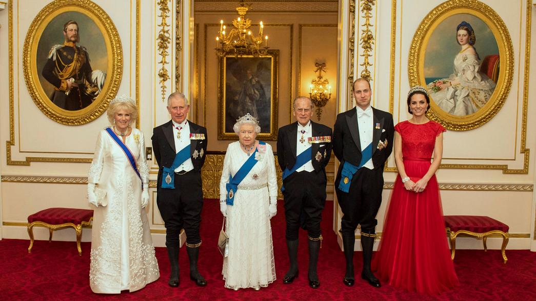 2017: A busy year ahead for Britain's royals