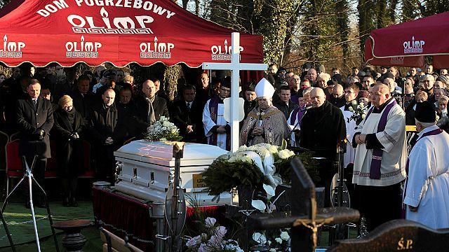 Eltemették Łukasz Urbant Lengyelországban