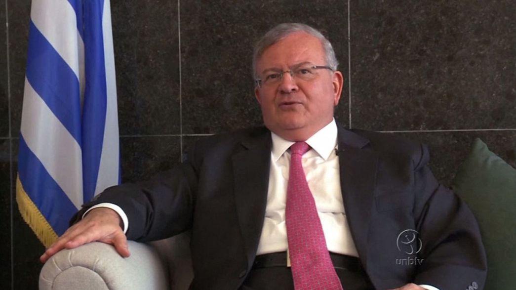"""L'ambassadeur grec au Brésil probable victime d'un """"crime passionnel"""""""