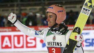 اتریشیها بار دیگر در سکوی اول رقابتهای پرش با اسکی جهان