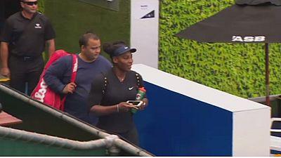 Serena Williams pour la première fois au tournoi d'Auckland