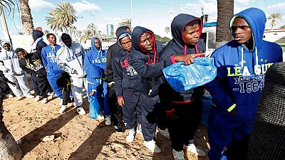 Libya deports dozens of illegal African migrants