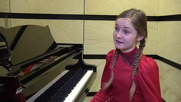 A 11 ans, elle écrit un opéra et le présente à Vienne