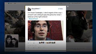 Medio millón de tuits por un preso político iraní en huelga de hambre