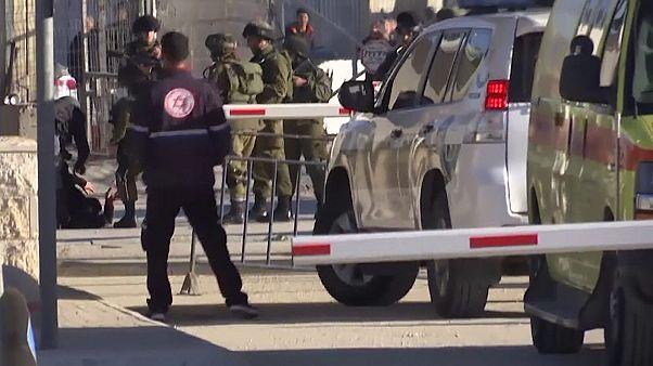 Fuerzas israelíes hieren a una mujer palestina en Jerusalén