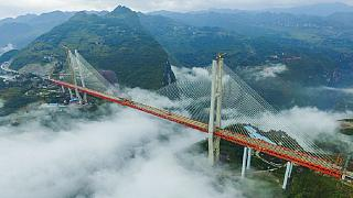 World's highest bridge opens in China