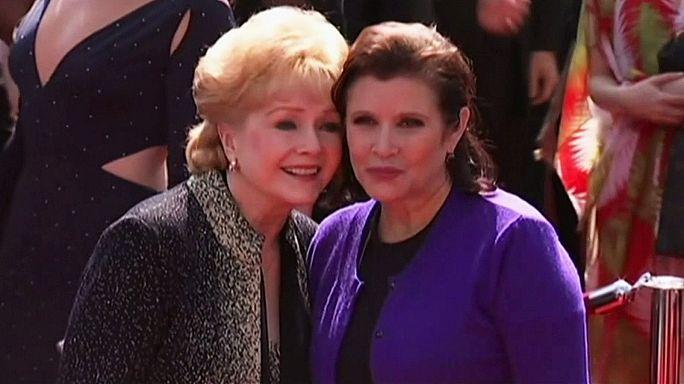 Carrie Fisher annesi Debbie Reynolds ile birlikte gömülecek