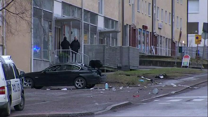 Several hurt as car ploughs into crowd in Finland