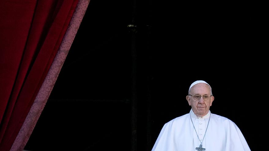 Image: VATICAN-POPE-CHRISTMAS-URBI-ORBI