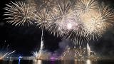A entrada no Ano Novo em diferentes latitudes