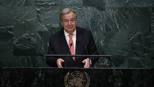#AntónioGuterres apela à Paz na primeira declaração como secretário-geral da ONU
