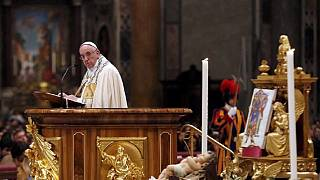 Pope's new year message, urges action on youth unemployment