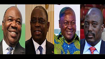 Les vœux de quelques Chefs d'État africains