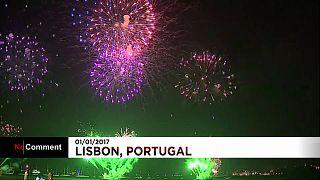 """Lisboa, Oporto y Funchal celebran """"a lo grande"""" el Año Nuevo"""