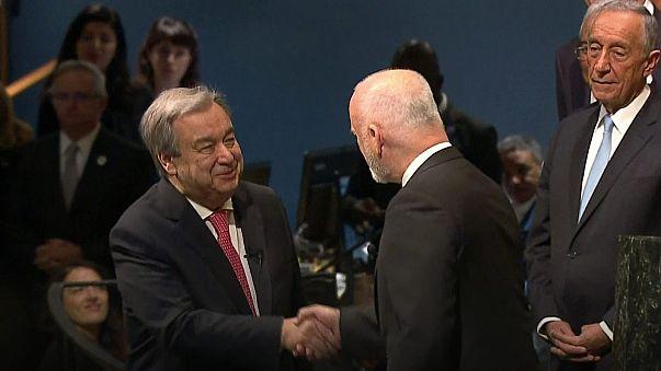 Guterres apela à Paz na primeira mensagem como secretário-geral da ONU