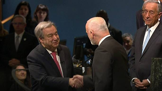 Llamamiento a la paz de Guterres en su primer día al frente de la ONU