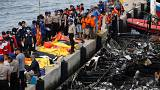 Ferry fire kills more than 20 near Indonesian capital Jakarta