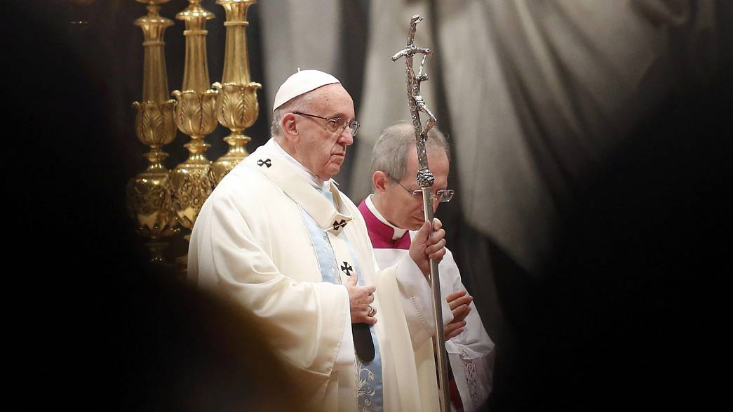 Папа Римский призвал к ненасилию в новом году