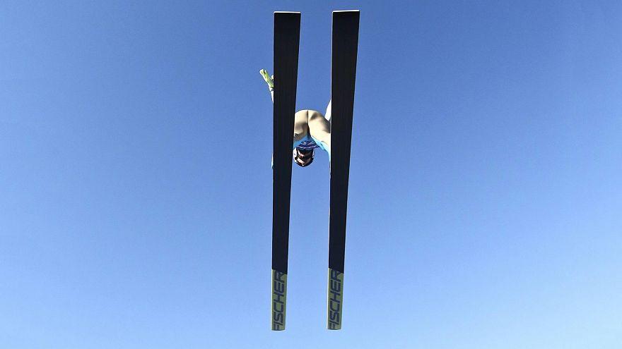 """النرويجي """"دانيال اندريه"""" يصنع الحدث في منافسات القفز التزلجي بألمانيا"""