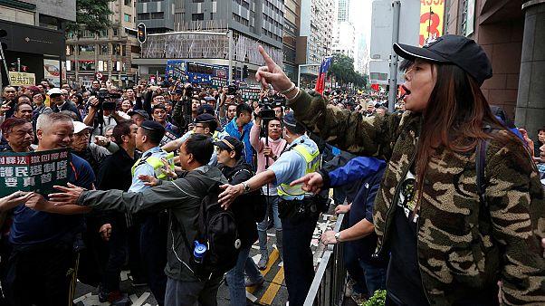 Prodemokratische Proteste in Hongkong