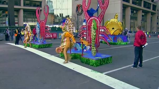 Filadelfia celebra su tradicional desfile de Año Nuevo, el más antiguo del país