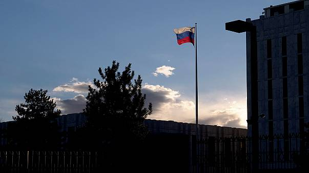 Expelled Russian diplomats arrive back in Moscow