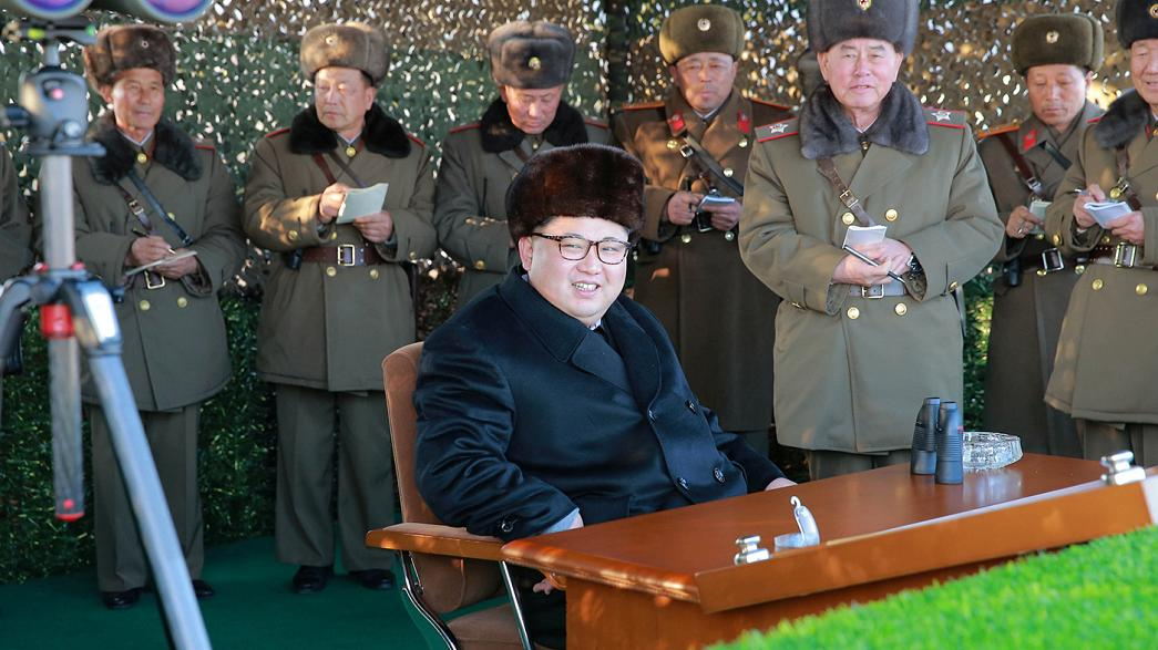 Tensions rise between North and South Korea over 'provocative' missile testing