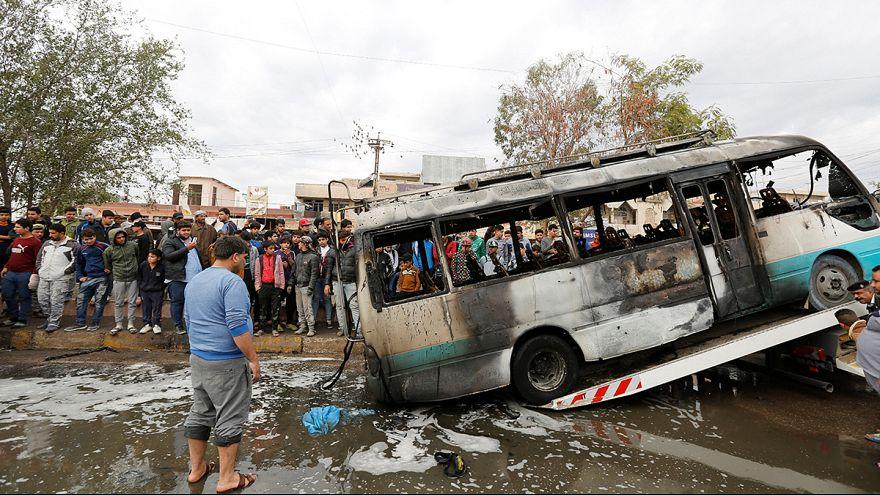 """Terceiro atentado do """"Daesh"""" no Iraque já com François Hollande no país"""