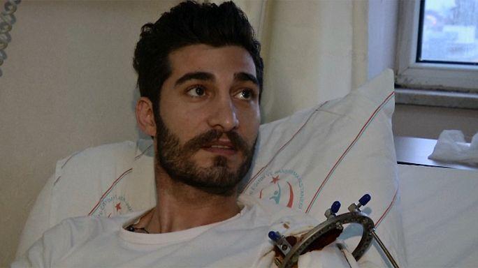 لبناني أحد الناجين من الهجوم الدموي على الملهى الليلي في اسطنبول يدلي بشهادته