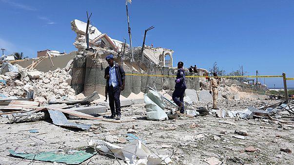 Öngyilkos támadó robbantott a szomáliai fővárosban