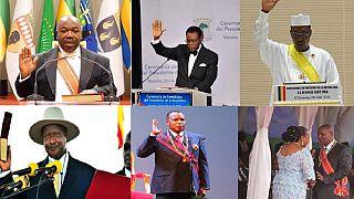 [Photos] Retour sur les cérémonies d'investiture des présidents Africains en 2016