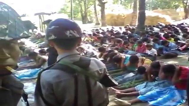 Birmânia prende 4 polícias por agressões a cidadãos roynga (veja o vídeo)