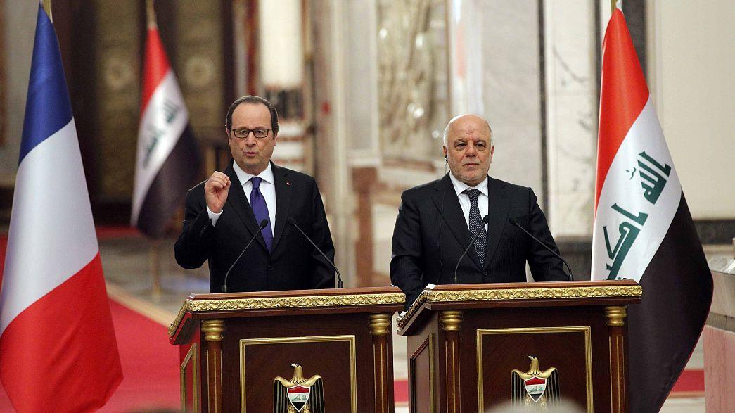 Франсуа Олланд: исламисты в Мосуле будут разгромлены до лета