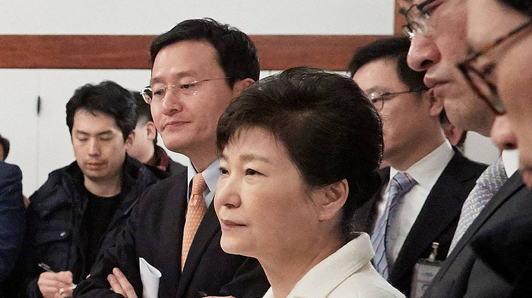 Park snubs impeachment hearings as South Korea's highest court begins scrutiny