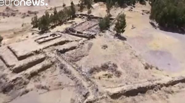 Az inkák kora előtti piramist fedeztek fel Peruban