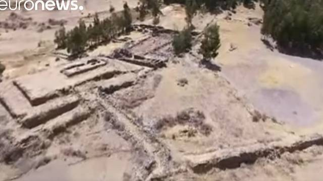 Watch: Pre-incan pyramid discovered in Peru
