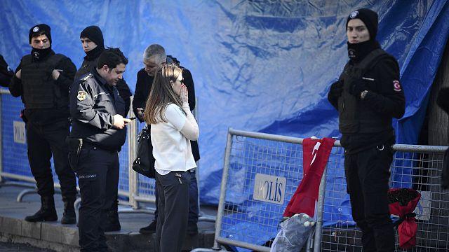 В Турции ищут террориста, совершившего нападение в Стамбуле