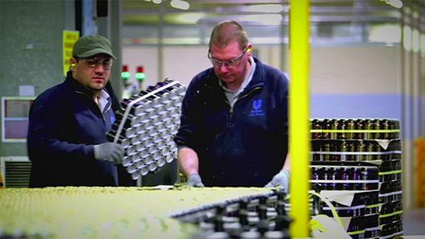 """Kein """"Brexit""""-Kater bei der britischen Industrie"""