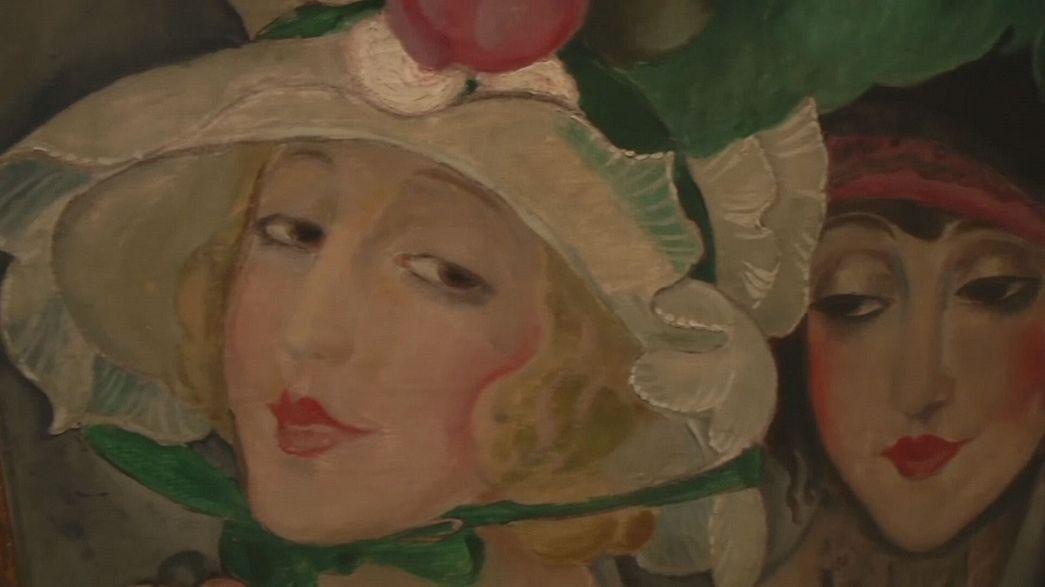 """As verdadeiras pinturas eróticas de """"Uma rapariga dinamarquesa"""" em exposição em Copenhaga"""