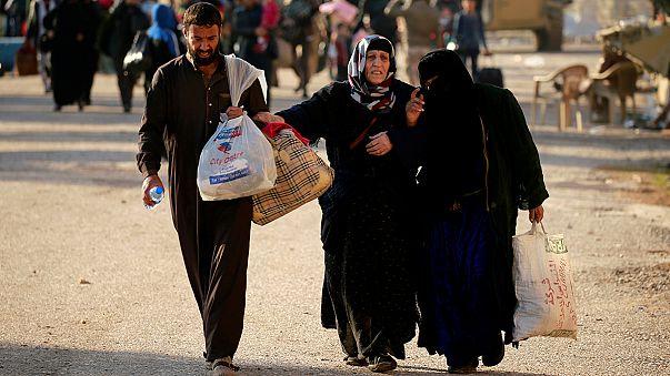 Musul'dan sivillerin kaçışı sürüyor