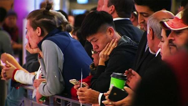 ABD'de havaalanlarındaki teknik arıza izdihama neden oldu