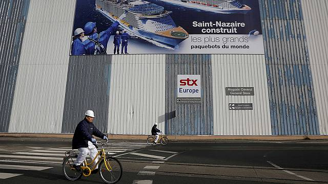 Shipbuilder STX France's future hangs in the balance