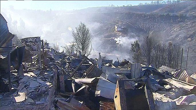 حرائق الصيف تخلف دماراً كبيراً في الشيلي