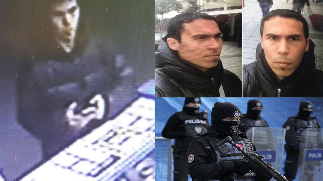 Istanbul gunman 'may have had combat training'