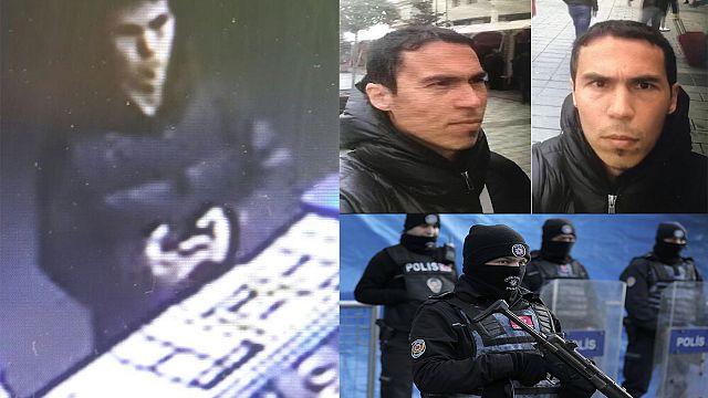 السلطات التركية تواصل ملاحقة منفذ اعتداء اسطنبول