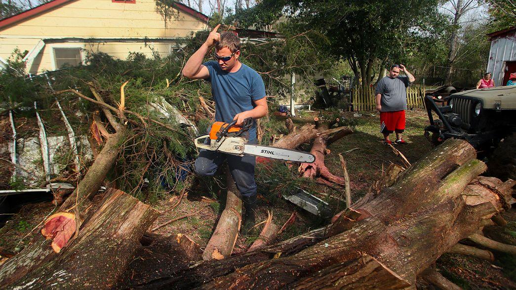 Amaina el temporal que azota la costa este de Estados Unidos