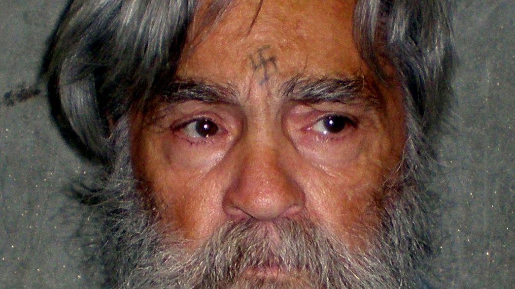 El asesino en serie Charles Manson, ingresado de gravedad en un hospital