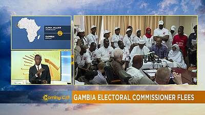 Gambia electoral commissioner flees country [The Morning Call]
