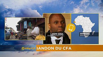Manifestations contre le franc CFA