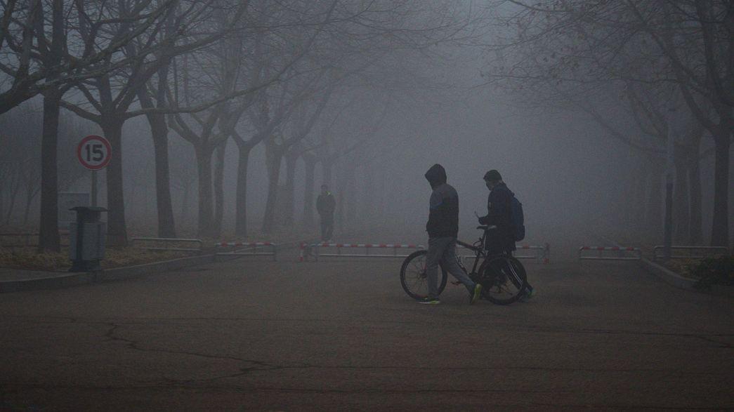 China começa o ano sob o signo da poluição